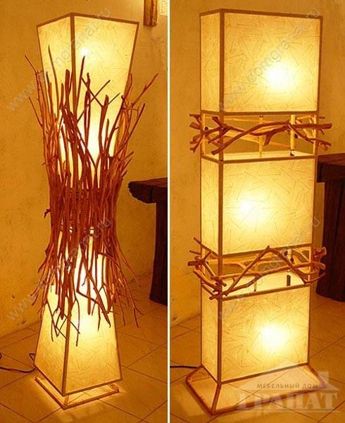 Как сделать в домашних условиях светильник